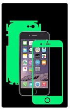Glow in Dark Skin Protector,Full Body Vinyl Decal Case Wrap, Apple Iphone 6 / 6S