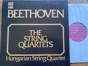 SLS 857 Beethoven String Quartets / Hungarian Quartet 10 LP box