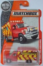 Matchbox 2017 MBX HEROIC RESCUE Ford F-350 Ambulance 77/125