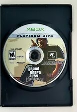 GTA Grand Theft Auto San Andreas Platinum Hits Xbox 360 polished disc only