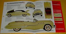 1949 Buick Roadmaster Convertible 320 ci Inline 8 Cyl IMP Info/Specs/photo 15x9