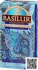 Basilur Ceylon Tea -  Oriental Frosty Afternoon FBOP Ceylon Black Tea 25 Bags