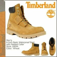 Timberland Classic  6' Inch (18094) Wheat  Nubuck /  Water Proof - MEN SIZE 9.5