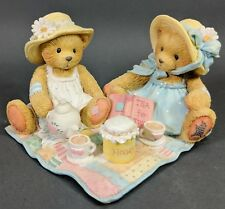 Cherished Teddies ~ Freda & Tina - Our Friendship Is A Perfect Blend (911747)