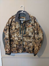 Sitka Hudson Jacket Waterfowl Marsh Size Medium