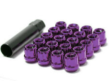 MUTEKI WHEEL LOCK LUG NUT M12x1.5 PURPLE OPEN END SPLINE 31886L