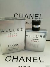 CHANEL Allure Homme Sport Eau de Toilette 100 ml / 3.4 Oz Sealed Box * SALE *