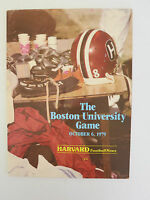 Vintage Harvard Football News Oct 6, 1979 Boston University Game