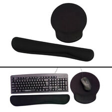 Memory Foam Keyboard Wrist Support Bar and Mouse Wrist Rest Pad Support Cushion