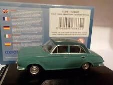 VAUXHALL FB VICTOR - GREEN 1:76 Oxford Diecast Model Car British