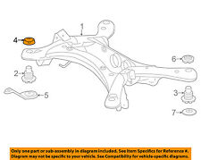 TOYOTA OEM Rear Suspension-Stopper 522720E030