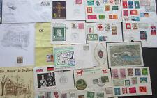 Lot Bund Postkarten/Sonderstempel/Briefe/Blöcke