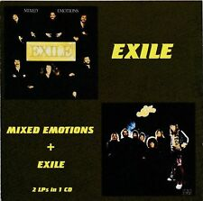 Exile ‎– Mixed Emotions + Exile RARE COLLECTOR'S CD