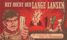 ERIC DE NOORMAN DEEL 50 - HET RECHT DER LANGE LANSEN - Hans G. Kresse