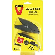 2 Pack Quick Set Mouse Trap by Victor M130