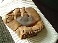 Antique Baseball Glove  1940s -1950s