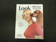 1950 MARCH 28 LOOK MAGAZINE - GREAT COVER, PHOTOS & ADS - ST 2850