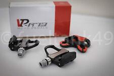 VP Components Look Keo Compatible Road Bike Pedals - VP-R73 Black