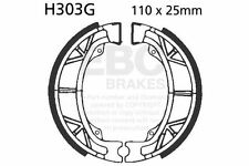 FIT HONDA ATC 125 ME/MG 84>85 EBC FRONT GROOVED BRAKE SHOES