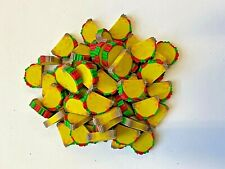 60 Mini Taco Shaped Erasers Teacher Supply Sorting Math