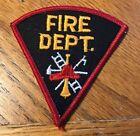 Vintage Fire department Patch