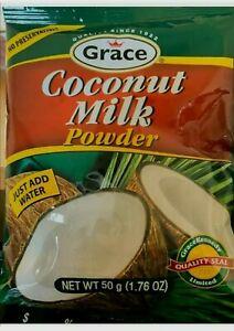 2 Coconut Milk Powder 50gm - No Preservatives  - 100% Pure & Natural- Grace