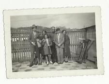 91133 ANTICA FOTO FOTOGRAFIA persone a genova nervi 1937