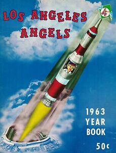 1963 Los Angels Angels 50-Page Yearbook EXCELLENT!