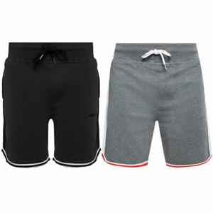 DIESEL UMLB PAN Mens Fleece Jersey Shorts Casual Summer Beachwear Bermudas S-XL