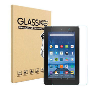 HD Premium Tempered Glass Guard Screen Protector Saver For Amazon Fire HD Tablet