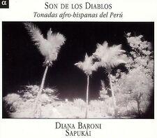 SAPUKAI - SON DE LOS DIABLOS (AFRO-LATIN TONADAS FROM PERU) [DIGIPAK] (NEW CD)