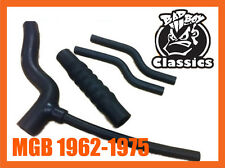 MGB 1962-1975 Chrome Bumper Hose Set Kit High Quality Reinforced