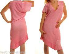 Vestito Donna Abito SEXY WOMAN A899 Taglio Asimmetrico Tg S/M