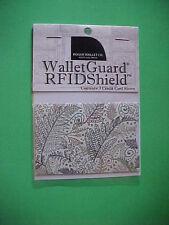 Rogue Credit Card Guard RFID  Protector Sleeve New Fern Pattern