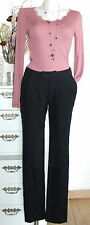 Noa Noa trousers Wool West END Wool XS 34 black trousers pants new
