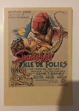 carte postale cinéma Shanghai Ville de folies Gene Tierney Zreik 79