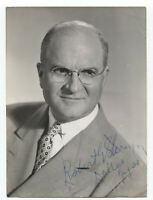 Robert G. Storey Signed Photo Autographed Signature Attorney Lawyer