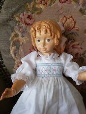 """12 1/2"""" Wooden Dolfi Doll """"Susie"""""""