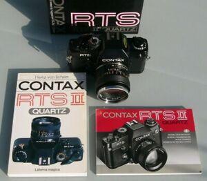 CONTAX RTS II QUARTZ mit 1.4 / 50 mm