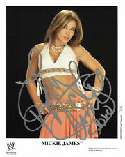 Wwe Mickie James P-1162 Hand Signed Autographed Promo Photo With Proof And Coa