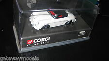 CORGI CLASSIC 1/43 PORSCHE 356 SOFT TOP UP WHITE    (03701) OLD SHOP STOCK