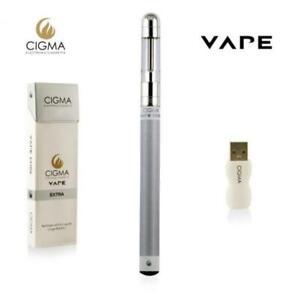 Cigma Vape Extra Weiß E Zigarette E Shisha Wiederaufladbare Batterie E Pen