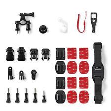 XXL Actioncam Zubehör Set Halterung Action-Kamera für zb Sony Actioncam Halter
