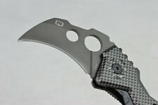 Karambit Claw Folding Saber Clip Pocket Knife Hunting Survival Rescue Gift K41