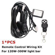 Remote Control Wiring Harness Kit 14V 40A ON/OFF Switch Relay For LED Light Bar