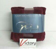 Brand New Charisma Port 4 Pack Hand & Wash Set - 2 Hand Towels & 2 Wash Cloths