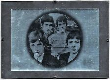 "The SMALL FACES - Original Postcard in 7""x 5"" Glass Clip Frame - FREE UK P&P"