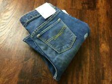 """NEW"" GAP KIDS Stretch Boot Cut Slim Hip Mid Rise Blue Jeans Girls Size 8 Plus"