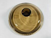 Pyrex Corning Vision V1C V-1-C Amber Brown Replacement Glass Lid