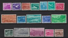 INDIA 1955 FIVE YEAR PLAN DEFINITIVE SET TO 5r LIGHTLY HINGED MINT